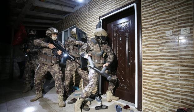 Antalyada 2 bin 500 polisin katılımıyla uyuşturucu operasyonu düzenlendi