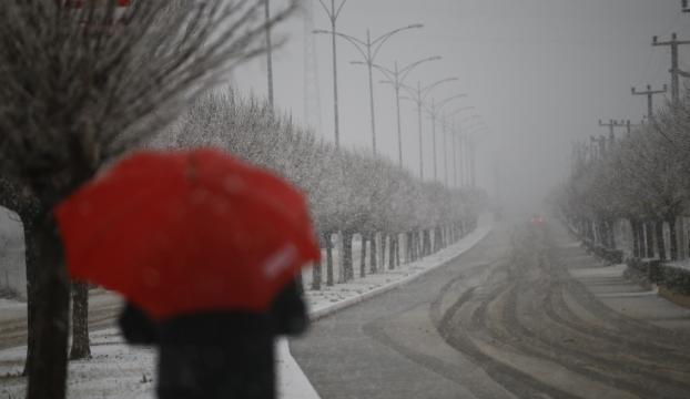 Antalyada kuvvetli yağış