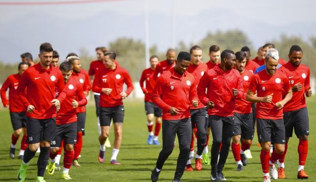 Antalyasporda Kayserispor maçı hazırlıkları