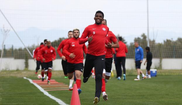 Antalyasporda Gençlerbirliği maçı hazırlıkları