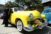 Kolombiyada antik araba geçişi