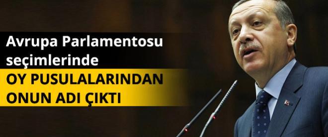 AP seçimlerinde Başbakan Erdoğan'a oy çıktı