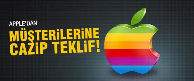 Apple'dan kullanıcılara teklif!