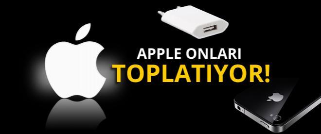 Apple, şarj adaptörlerini toplatıyor!