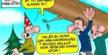 Komik yılbaşı karikatürleri!