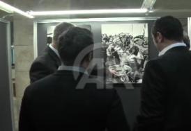 İstanbul Bölge İdare Mahkemesinde Ara Güler fotoğraf sergisi açıldı