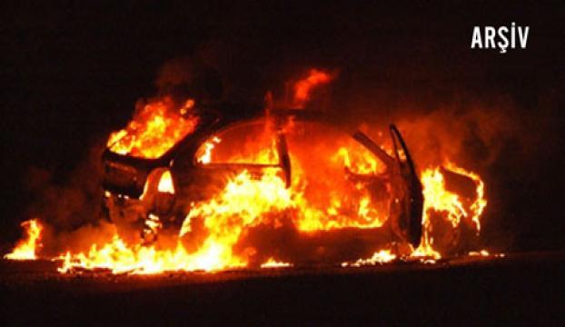Mardinde 3 araç yakıldı