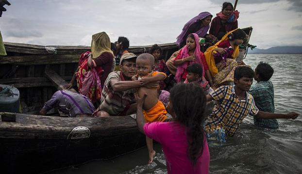 ABden Arakanlı Müslümanlara 40 milyon avro yardım