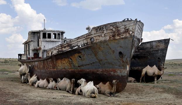 Özbekistan yok olan Aral Gölü için 2.6 milyar dolar harcayacak