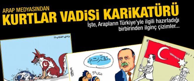 Arap medyasından Türkiye karikatürleri