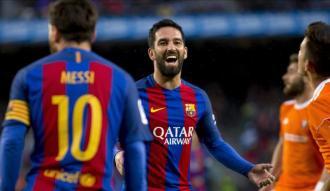 Arda'lı Barcelona'dan farklı galibiyet