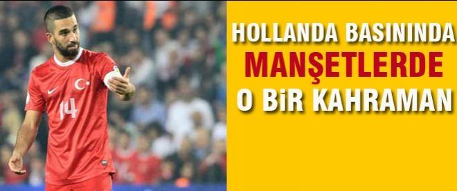 Arda Turan Hollanda Basınında manşete çıktı