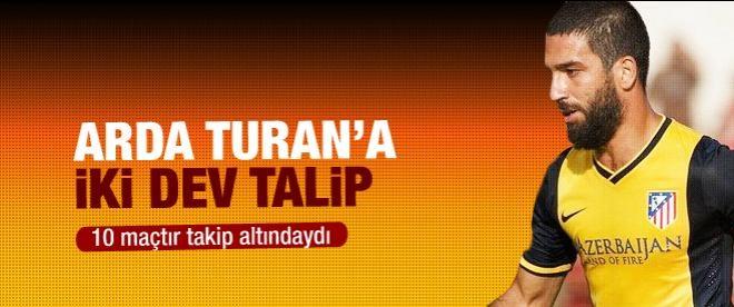Arda Turan'a Liverpool ve Arsenal talip