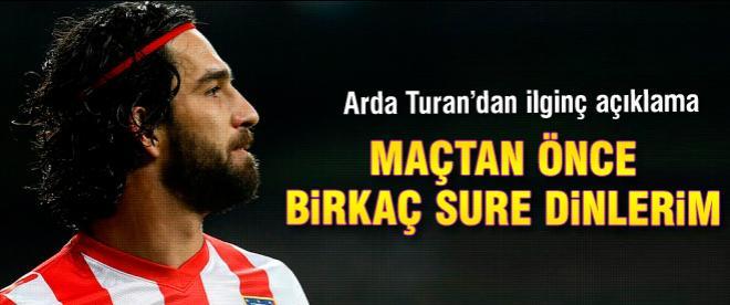 Arda Turan'dan ilginç açıklama