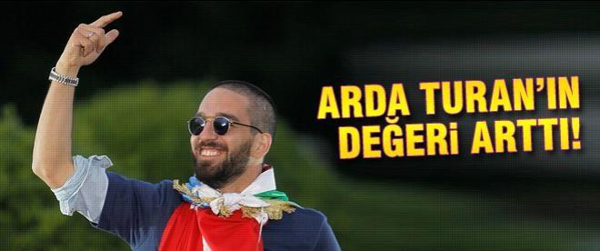 Arda Turan'ın değeri arttı