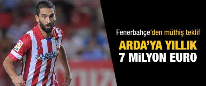 Arda'ya yıllık 7 milyon Euro