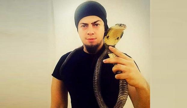 İllüzyonist Aref'i kobra yılanı ısırdı