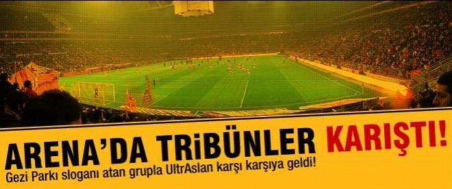 TT Arena'da Gezi gerilimi