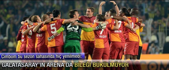 Galatasaray'ın Arena'da bileği bükülmüyor