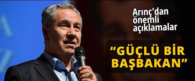 Bülent Arınç'dan Davutoğlu açıklaması