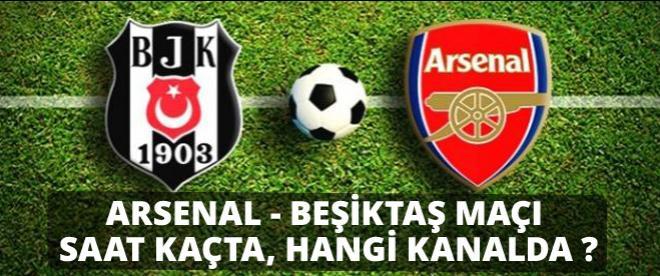 Arsenal Beşiktaş maçı soluk kesecek