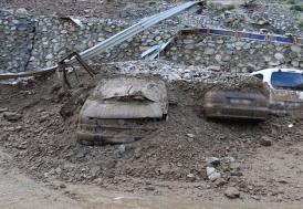 Artvin'de sel sularına kapılarak kaybolan 3 kişinin cansız bedenine ulaşıldı