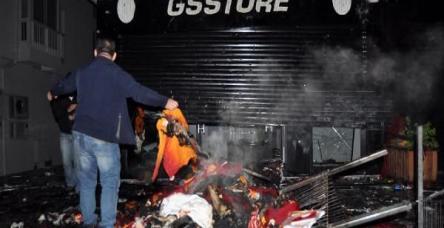 testGS Store'u böyle ateşe verdiler!