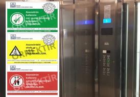 Edirne'de kırmızı etiketli asansörler mühürlenecek