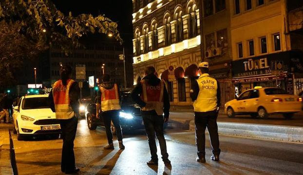 İstanbulda 5 bin polisle asayiş uygulaması