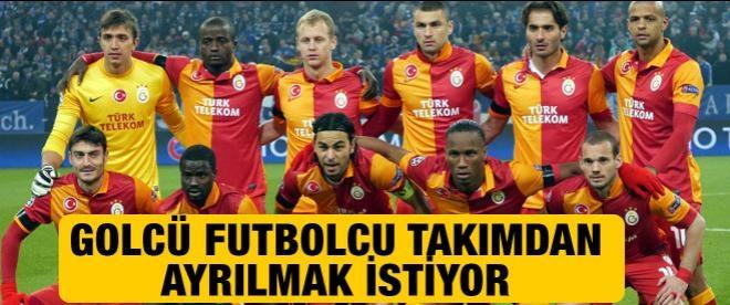 Burak Yılmaz Galatasaray'dan ayrılmak istiyor