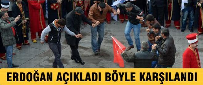 Erdoğan açıkladı, Gökçek böyle karşılandı