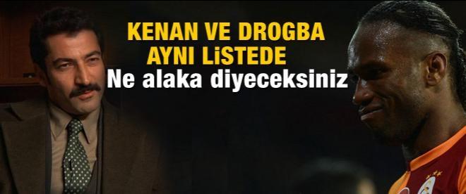 Drogba ve Kenan aynı listede!