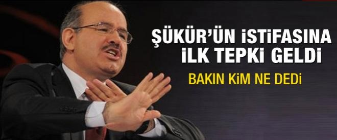 Hakan Şükür'ün istifası için kim ne dedi?