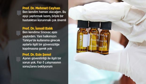 Türk bilim insanları Türkiyeye gelecek Kovid-19 aşılarının güvenilirliğinden kuşku duymuyor
