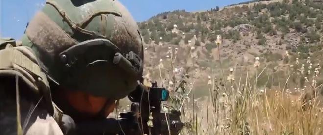 Irakın kuzeyinde 4 PKKlı terörist etkisiz hale getirildi