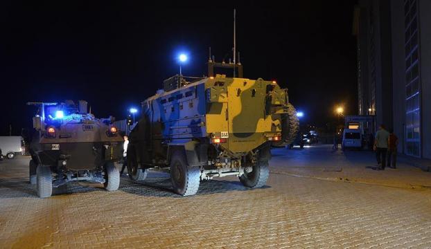 Askeri konvoya roketatarlı saldırı : 1 şehit, 6 yaralı