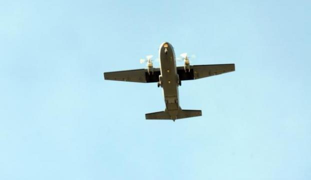 Askeri uçak Filistinli yaralılar için havalandı