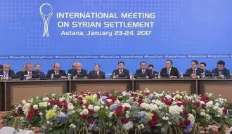 Suriye konulu Astana görüşmelerinin ilk gün tamamlandı