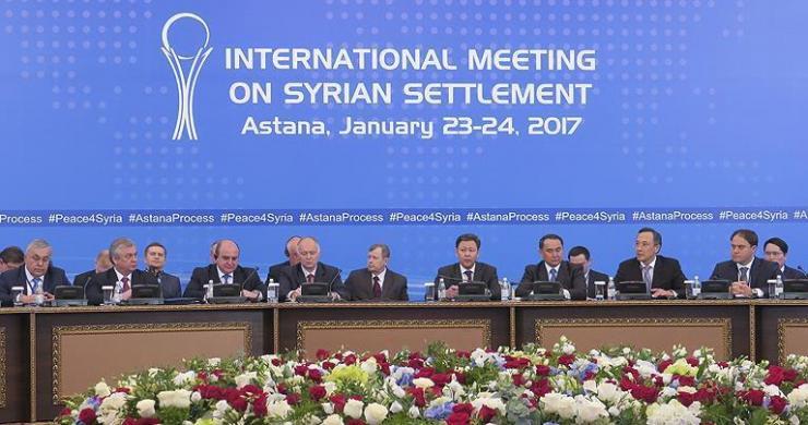Astana'da ilk gün görüşmeleri tamamlandı
