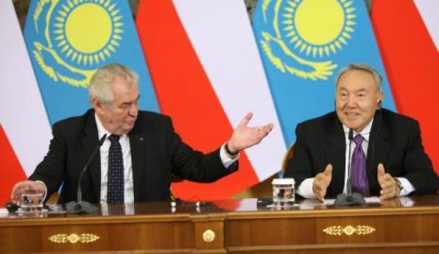 Astana ve Prag arasında 500 milyon dolarlık anlaşma
