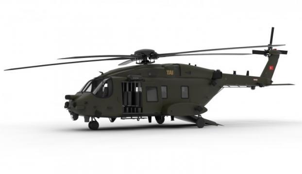 ATAK 2 Taarruz Helikopterinden ilk görüntü