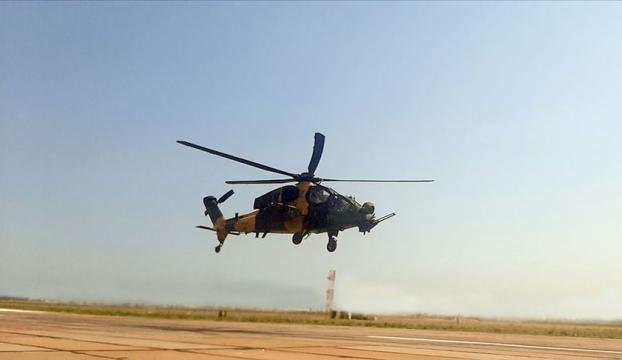 Azerbaycandaki ortak tatbikatta ATAK helikopterleri de yer aldı