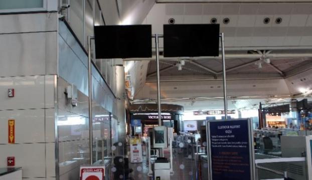 Atatürk Havalimanında sistem arızası