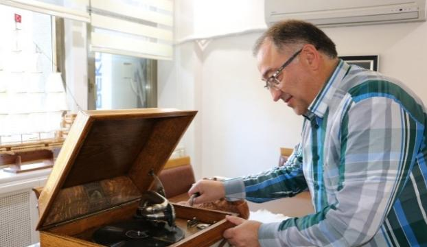 Atatürkün gramofonun 70 yıl sonra çaldı