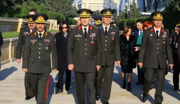 Jandarma Genel Komutanı Azerbaycanda
