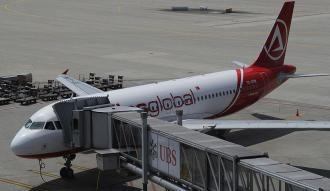 Doludan burnu hasar gören uçak, İstanbul'a döndü