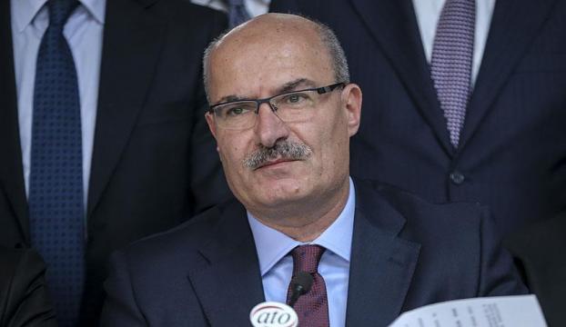 Cumhurbaşkanı Erdoğan, ATO Başkanı Baranı kabul etti