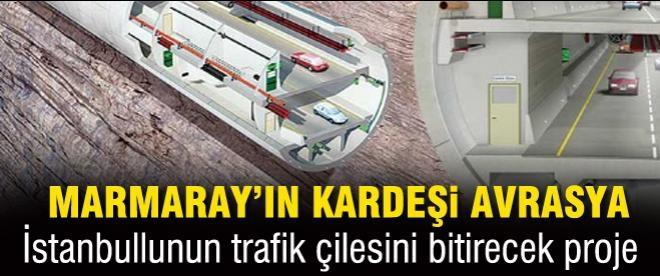 Avrasya Tüneli ile İstanbul trafiğine son