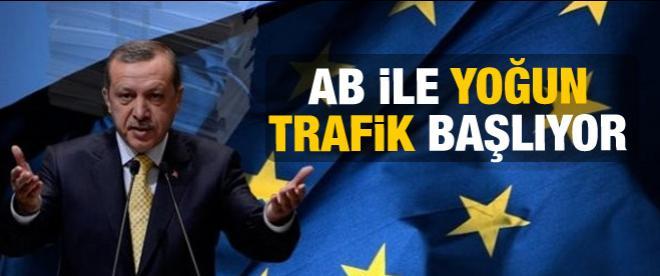 Avrupa ile yoğun trafik başlıyor