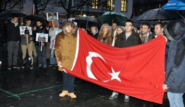 "Avrupada ""İsrail"" protestoları"